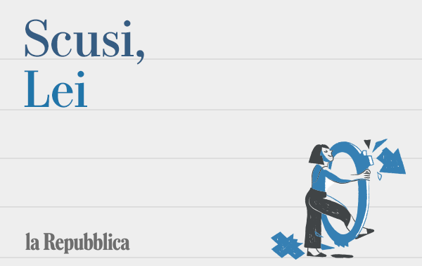 Scusi, Lei - Pane, rose e gender gap
